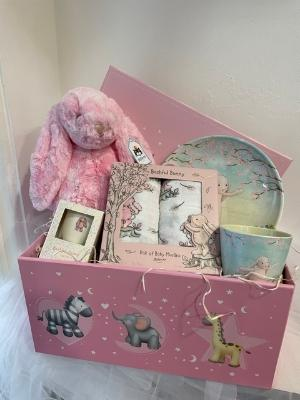 Baby hamper pink by Jellycat