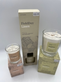 Field Day Candles and reed Diffusers made in Northern Ireland